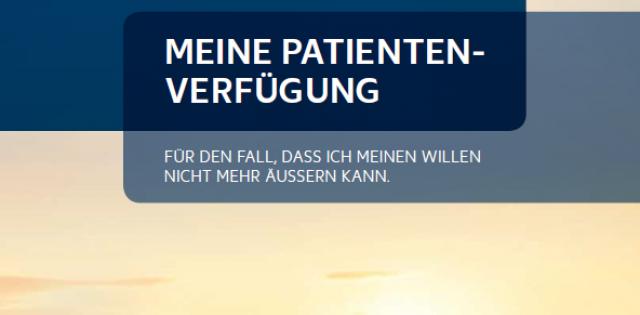 Bild für den Artikel: Neue Patientenverfügung