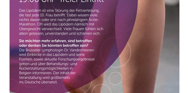 Bild für den Artikel: Infoabend: Lipödem- Der Kampf gegen die Fettzellen!