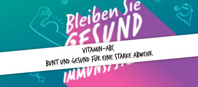 Bild für den Artikel: Vitamin-ABC – Bunt und gesund für eine starke Abwehr