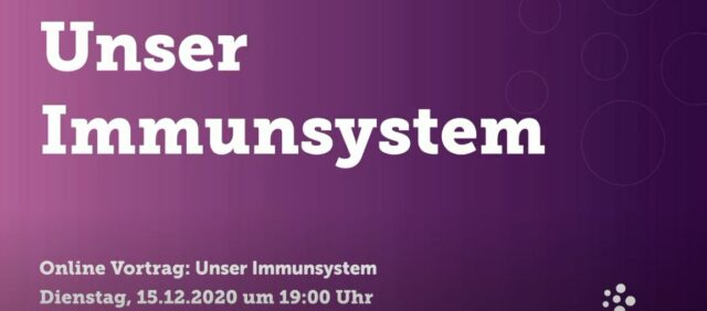 Bild für den Artikel: Unser Immunsystem – Online-Vortrag