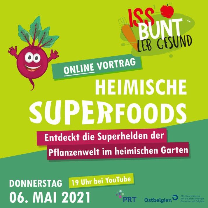 Bild für den Artikel: Online-Vortrag: Heimische Superfoods